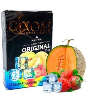 Табак Gixom Ice Melon Strawberry (Дыня Клубника Лед) 50 гр