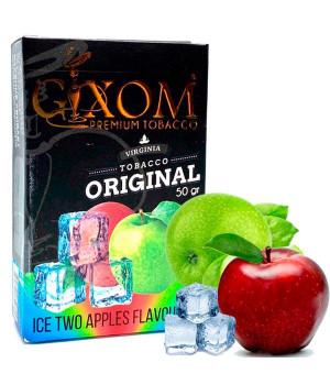 Табак Gixom Ice Two Apples (Лед Два Яблока) 50 гр