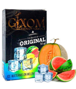 Табак Gixom Ice Watermelon Melon (Лед Арбуз Дыня) 50 гр