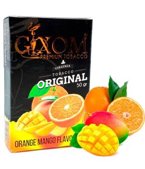 Табак Gixom Orange Mango (Апельсин Манго) 50 гр