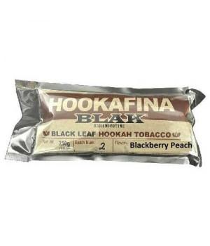 Табак Hookafina Blak Blackberry Peach (Черника с Персиком) 250 гр