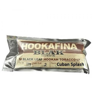 Табак Hookafina Blak Cuban Splash (Кубинский Всплеск) 250 гр