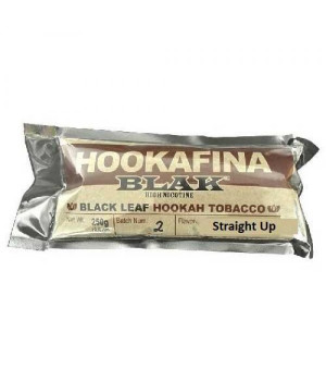 Табак Hookafina Blak Straight Up (Черный Табак) 250 гр