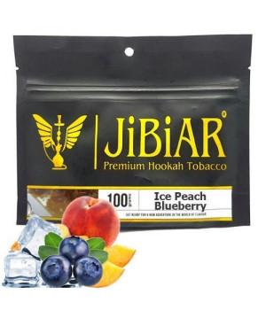 Табак JIBIAR Ice Peach Blueberry (Персик Черника Лед) 100 гр