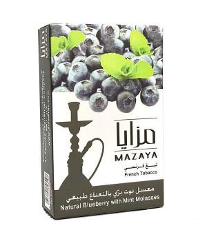 Табак Mazaya Blueberry with Mint (Черника с Мятой) 50гр