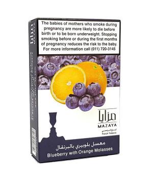 Табак Mazaya Blueberry with Orange (Черника с Апельсином) 50гр