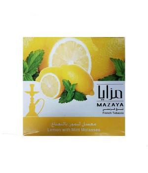 Табак Mazaya Lemon with Mint (Лимон с Мятой) 250гр