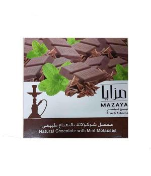 Табак Mazaya Natural Chocolate with Mint (Натуральный Шоколад с Мятой) 250гр