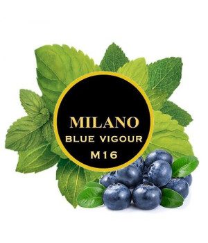 Табак Milano Blue Vigour M16 (Черника Мята) 100 гр