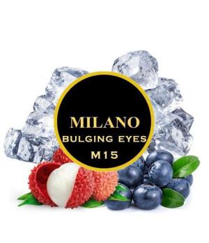 Табак Milano Bulging Eyes M15 (Черника Личчи Лед) 500 гр