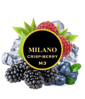 Табак Milano Crisp-Berry M3 (Лесные Ягоды Ментол) 500 гр