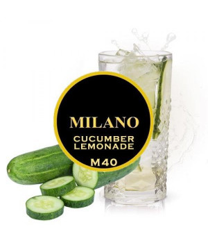 Табак Milano Cucumber Lemonade M40 (Огуречный Лимонад) 100 гр