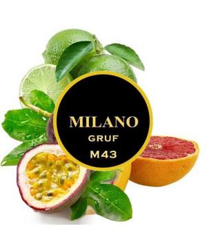 Табак Milano Gruf M43 (Грейпфрут Лайм Маракуя) 500 гр
