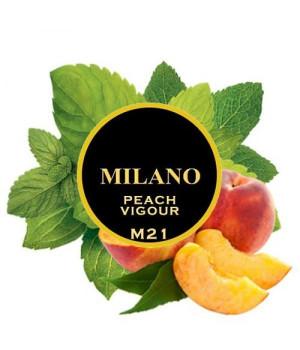 Табак Milano Peach Vigour M21 (Персик Мята) 100 гр