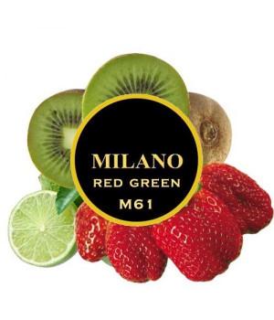 Табак Milano Red Green М61 (Лайм Клубника Киви) 100 гр