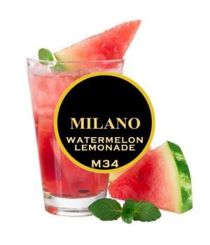 Табак Milano Watermelon Lemonade M34 (Арбузный Лимонад) 100 гр