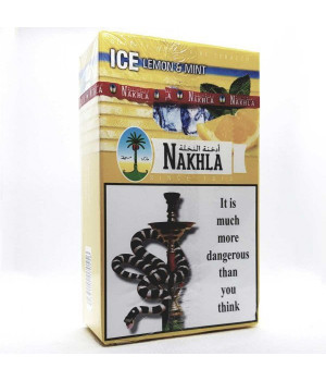 Табак Nakhla Ice Lemon Mint (Лимон Мята Лед) 250гр