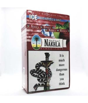 Табак Nakhla Ice Two Apples Mint (Двойное Яблоко Мята Лед) 250гр