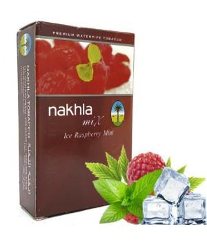 Табак Nakhla Mix Ice Raspberry Mint (Малина Мята Лед) 50гр