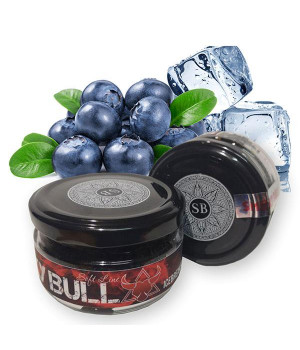 Табак Smoky Bull Soft Line Ice Blueberry (Черника Лед) 100 гр