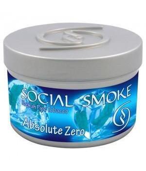 Табак Social Smoke Absolute Zero (Мятный Микс) 100гр