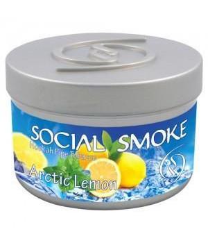Табак Social Smoke Artic Lemon (Лимонная Цедра Мята) 250гр