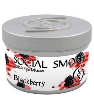 Табак Social Smoke Blackberry (Ежевика) 100гр
