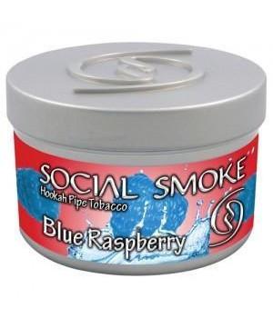 Табак Social Smoke Blue Raspberry (Голубика с Малиной) 100гр