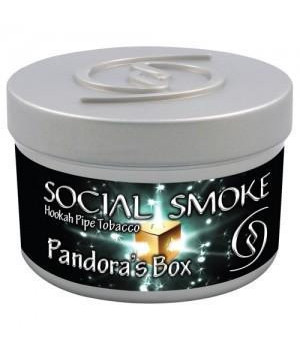 Табак Social Smoke Blue Raspberry (Малиновый Коктейль) 250гр
