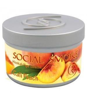 Табак Social Smoke Cali Peach (Персик) 100гр