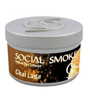 Табак Social Smoke Chai Latte (Черный Чай с Кардамоном и Специями) 100гр