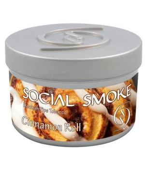 Табак Social Smoke Cinnamon Roll (Коричный Ролл) 100гр