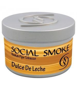 Табак Social Smoke Dulche De Leche (Карамель) 100гр