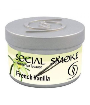 Табак Social Smoke French Vanilla (Французская Ваниль) 100гр