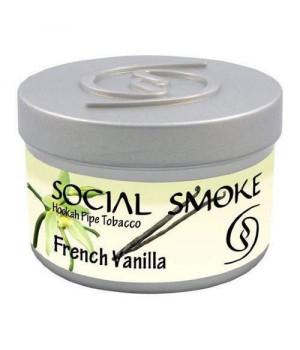 Табак Social Smoke French Vanilla (Французская Ваниль) 250гр