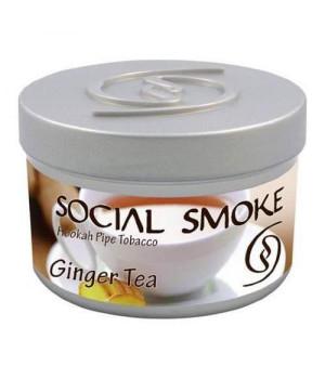 Табак Social Smoke Ginger Tea (Имбирный Чай) 100гр