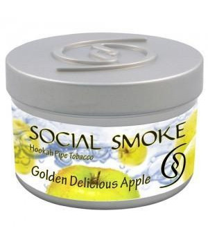 Табак Social Smoke Golden Delicious Apple (Фирменное Яблоко) 250гр