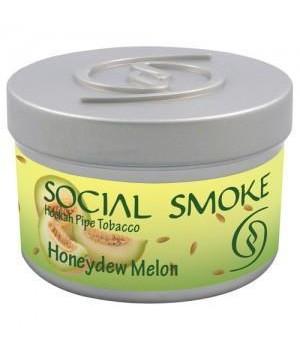 Табак Social Smoke Honeydew Melon (Медовая Дыня) 250гр