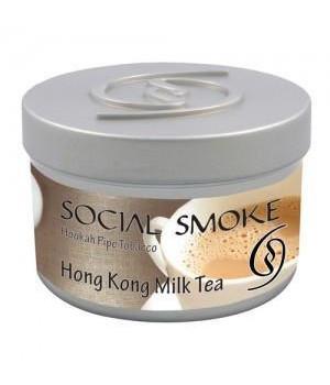 Табак Social Smoke Hong Kong Milk Tea (Черный Чай с Молоком) 100гр