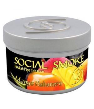 Табак Social Smoke Mango Habanero (Манго с Перцем) 100гр