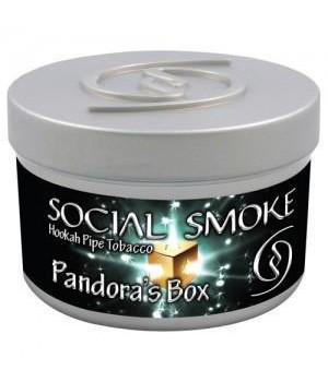 Табак Social Smoke Pandora Box (Вишневый Микс с Корицей) 250гр