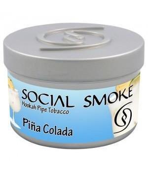 Табак Social Smoke Pina Colada (Пина Колада) 100гр
