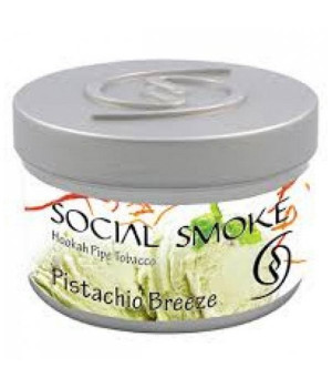 Табак Social Smoke Pistachio Breeze (Фисташковое Мороженое) 100гр