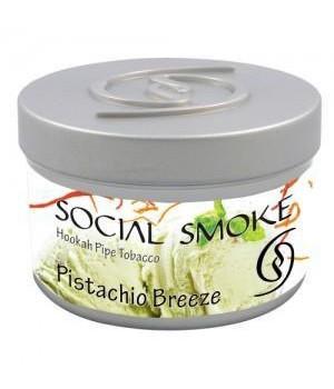 Табак Social Smoke Pistachio Breeze (Фисташковое мороженое) 250гр