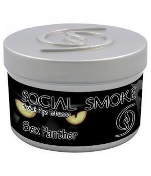Табак Social Smoke Sex Panther (Персик, Клюква и Апельсин) 250гр