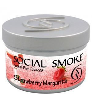 Табак Social Smoke Strawberry Margarita (Клубничная Маргарита) 100гр