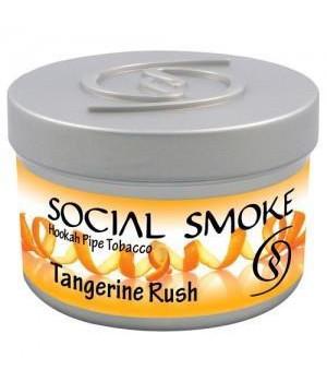 Табак Social Smoke Tangerine Rush (Мандариновый Взрыв) 100гр