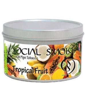 Табак Social Smoke Tropical Fruit (Тропические Фрукты) 100гр