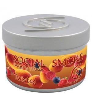 Табак Social Smoke Twisted (Манго Клубника Малина Голубика) 100гр