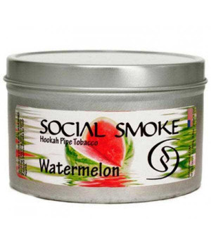Табак Social Smoke Watermelon (Арбуз) 100гр